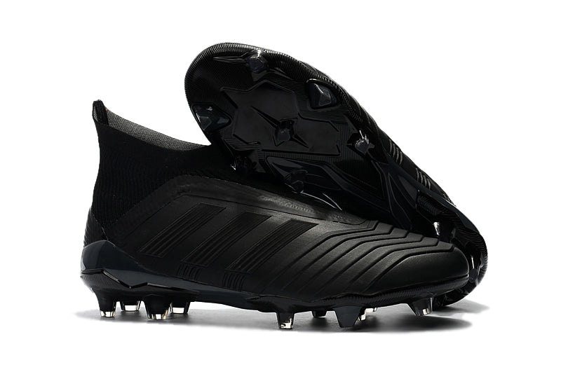 9f63674b10d6 ... White Solar Red DFHYWCZ Adidas Predator 18+ FG Soccer Cleats All Black .