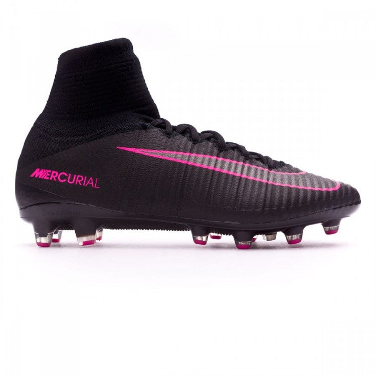 size 40 e88bb a53ad ... low price nike mercurial superfly v ag soccer cleats black pink 51f61  99af2
