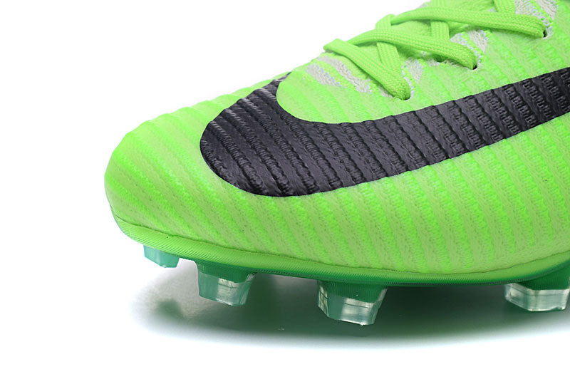 detailed look 9ab39 57624 ... Nike Mercurial Superfly V FG Soccer Cleats Grass Green Black ...