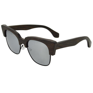 retro SandalWood Dark Sunglasses Bamboo Bewell