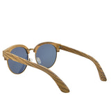 Polarized UV400 Zebra Wood Sunglasses Bamboo Sunglasses