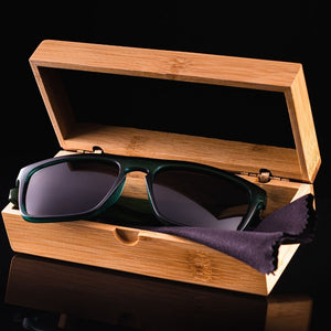 Bamboo Sunglasses Exective case