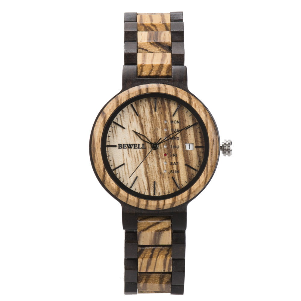 Bewell Retro Zebra Wood and Black Sandalwood