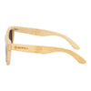 Bamboo Frame and Black Polarized Lens Wood Sunglasses