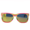 Pastel Colour Polarized Bamboo Sunglasses