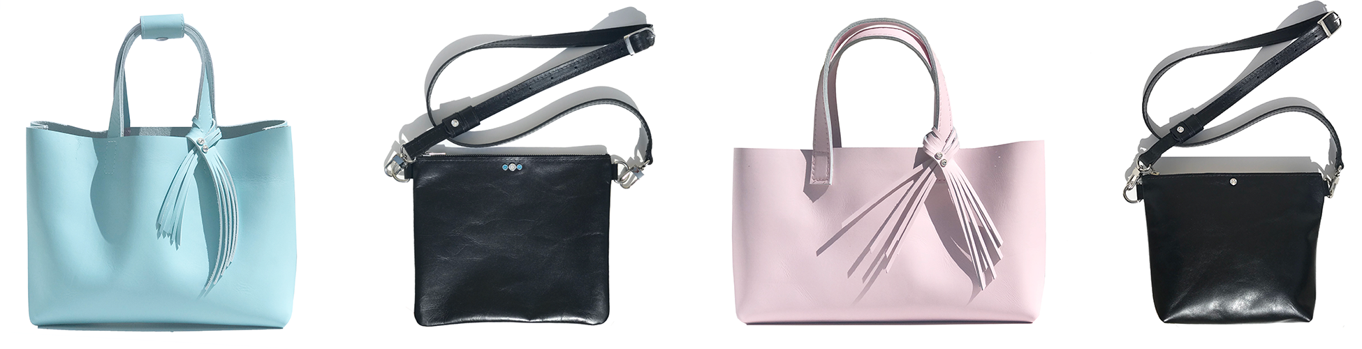 MONOLISA Leather Totes and Crossbody - Bags Made in California