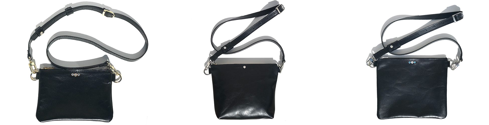 Italian Leather Crossbody Bags Made in USA - MONOLISA Collection