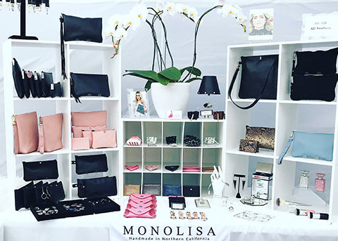 Art + Soul in Oakland Event - MONOLISA booth