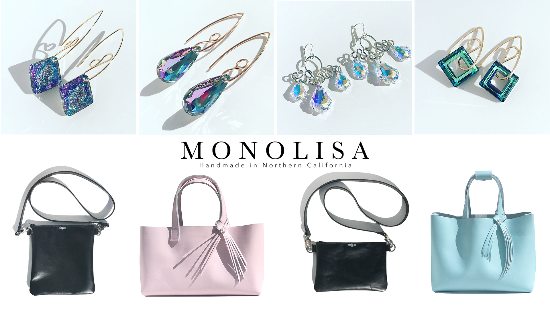 Montclair Village Summer Art Walk - Featuring MONOLISA Handmade Handbags, Bag Accessories & Jewelry For Women