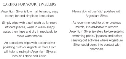 Guide on How to Clean Argentium Silver Jewelry