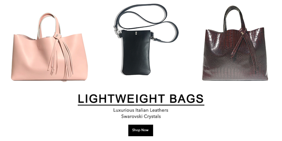 Bags Made in California - Leather Strap Bags, Totes, & Clutches