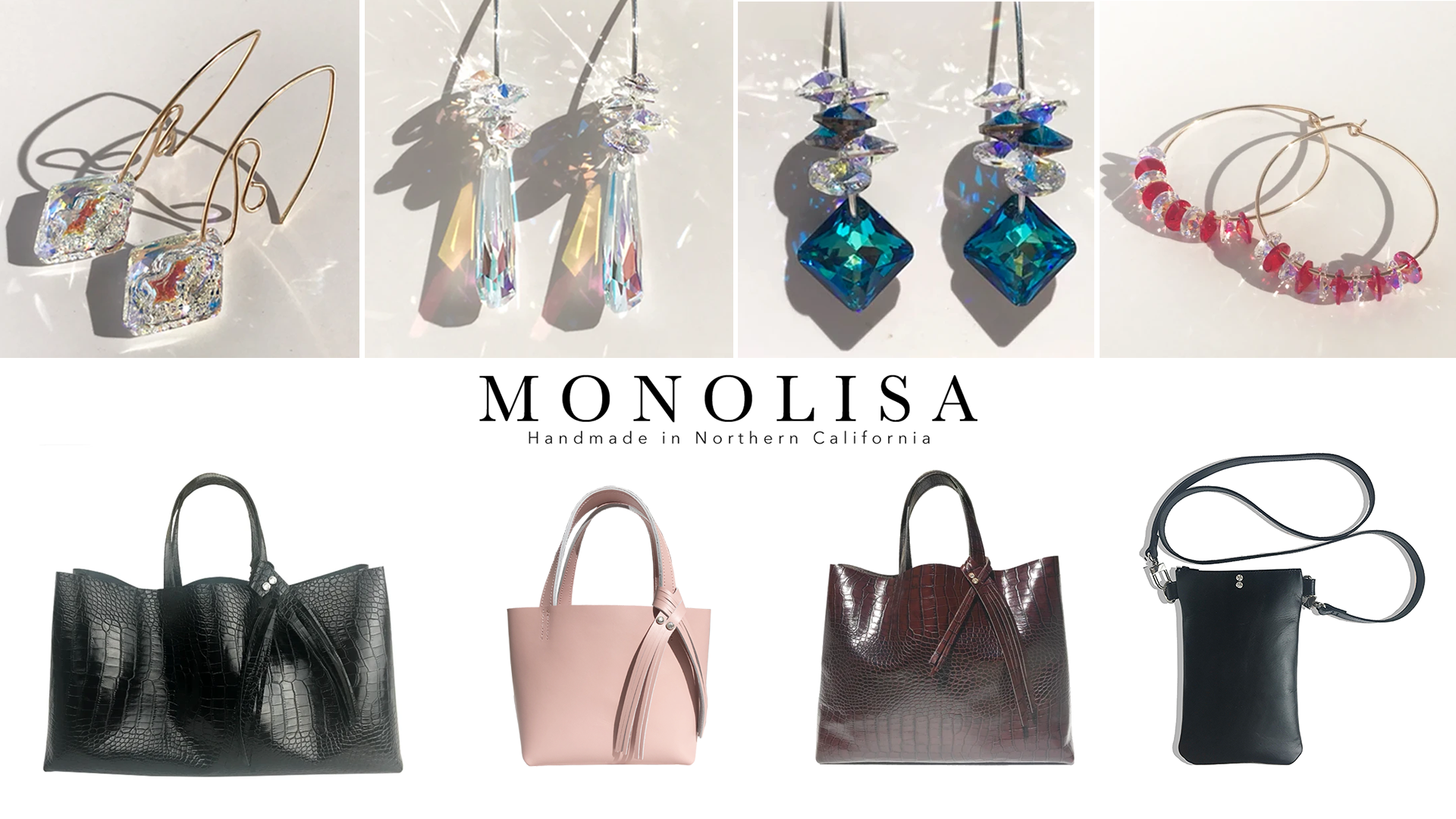 Alameda (Mother's Day) Spring Festival 2020 - Featuring MONOLISA HANDMADE IN CALIFORNIA - Bags and Jewelry Made in California