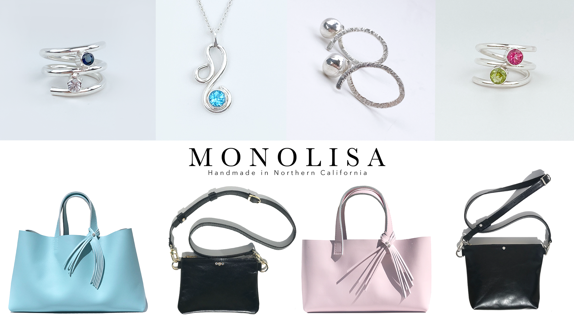 MONOLISA Handbag and Jewelry Collection - Limited Editions | One of a Kind Designs by California Designer Lisa Ramos