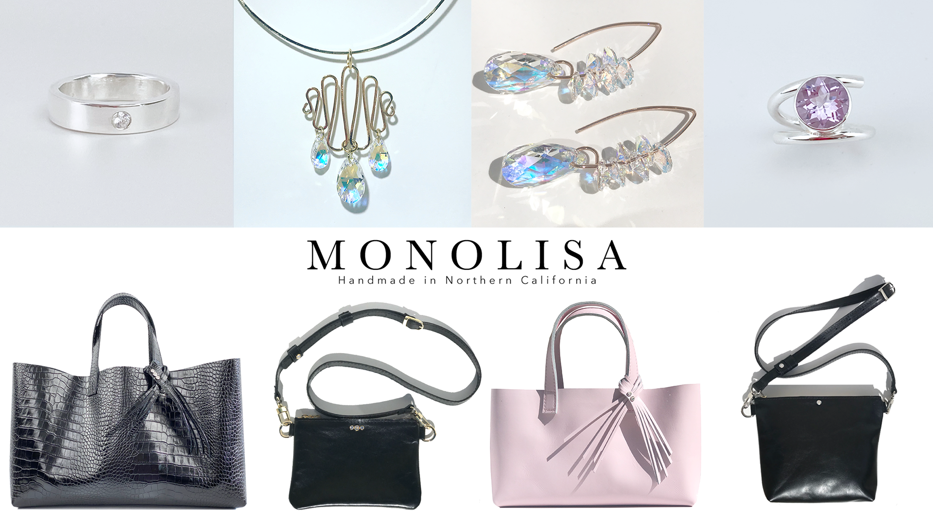 Hillsborough Auxiliary to Peninsula Family Service Annual Thanks for Giving Event - SHOP MONOLISA Collection - Handmade Bags & Jewelry