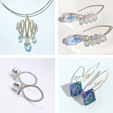 MONOLISA Jewelry Collection - Crystal Earrings, Necklaces, Pendants, Gemstone Rings and Bracelets