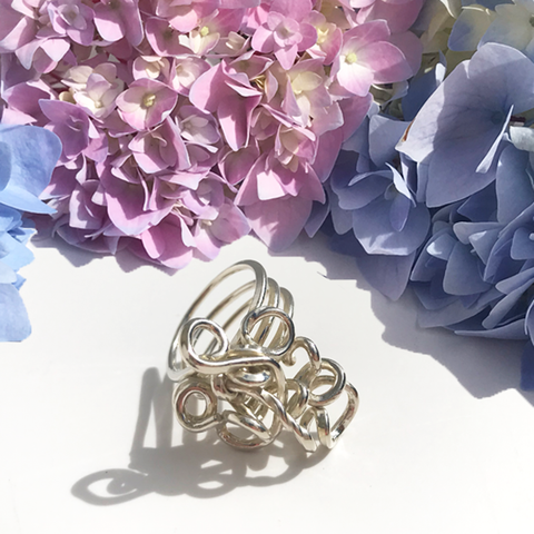 Jewelry Made In California - MONOLISA Hand Sculpted Sterling Rings