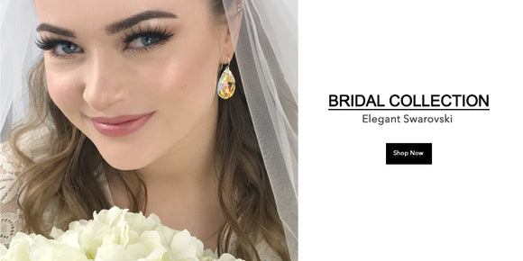Bridal Jewelry Collection Handmade in California - Earrings, Bracelets & Necklaces