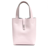 Bags Made in California - Small Pink Leather Tote 74 – 3 Swarovski