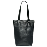 Italian Leather Tote Bag 38 – Swarovski Crystals + Matching Accessory