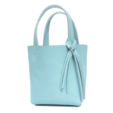 Blue Leather Paradise Tote 19 – Two Swarovski