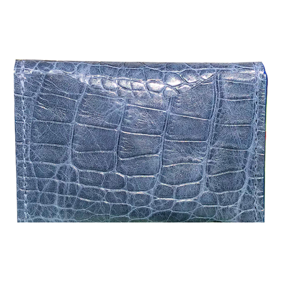 Front of Card Case I – Moonlight Croc