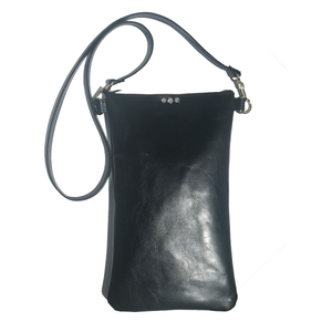Tall Italian Leather Tall Strap Bag 33 – Three Swarovski