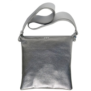 Metallic Leather Large Strap Bag 39 – Pouch Accessory