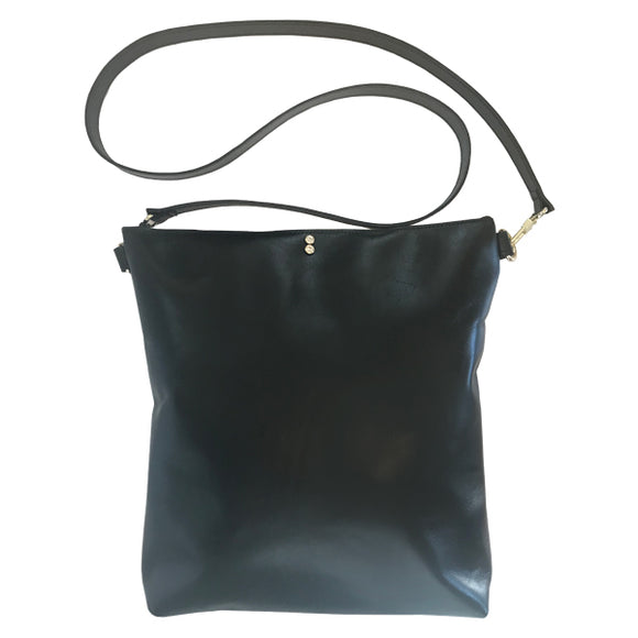Italian Leather Classic Strap Bag 8 – Featuring Two Crystals