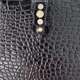 Leather Cell Bag 81 - Crystal Closure