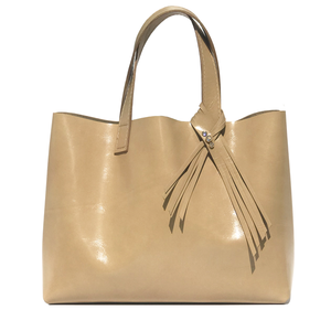 Bags made in California - Medium Italian Leather Tote Bag 73 – 3 Swarovski