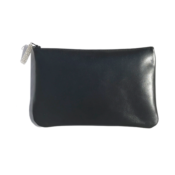 Monique Bag – Soft Black Leather Featuring crystals