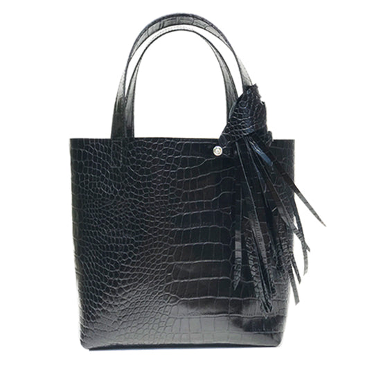 Handbags Made in California - MONOLISA Black Tote Bag