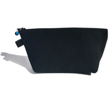 Cosmetic Bag - European Suede Featuring Crystal Elements
