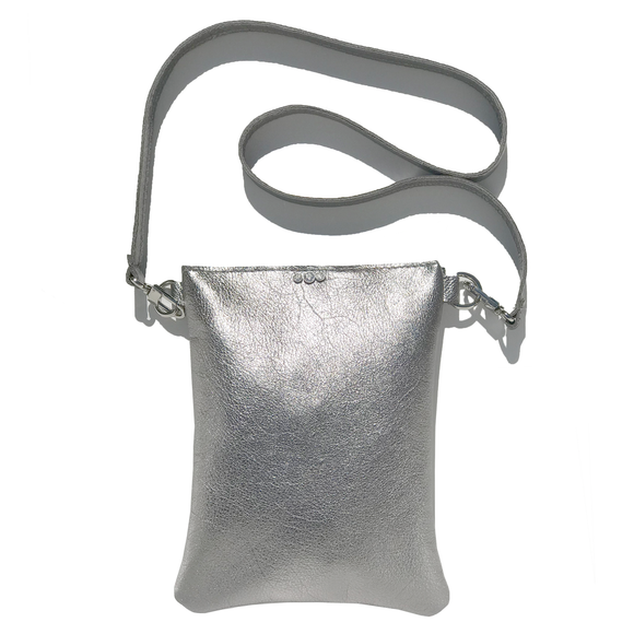 Metallic Leather Strap Bag 40 – Swarovski