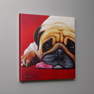 Dog Tired! Canvas