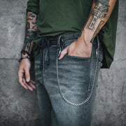 Silver pants chain for men - the lost boys