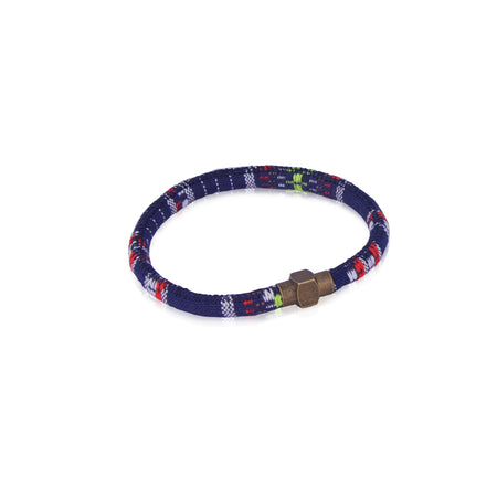 Navy and red baja bracelet