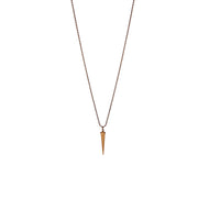 Brass bullet necklace for men - The Lost Boys