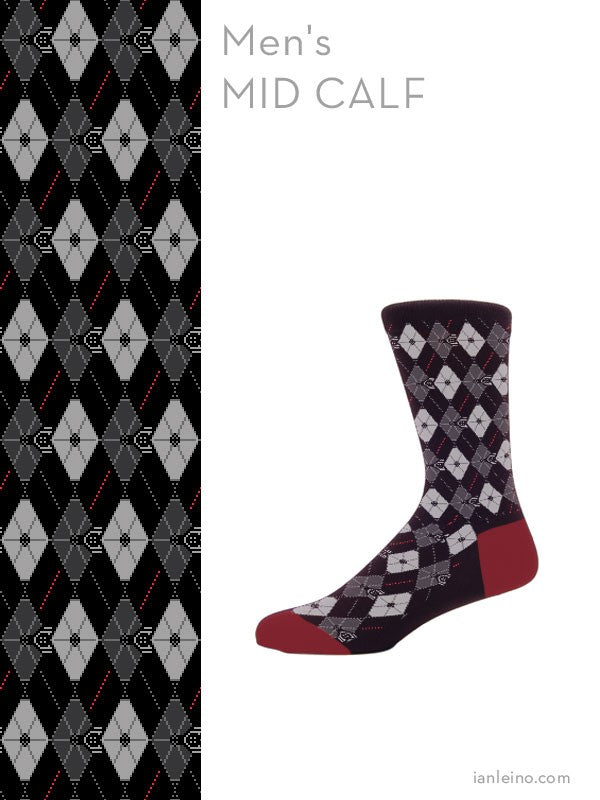 Argyle Fighters Socks