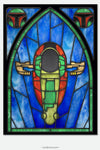 Slave 1 - Stained Glass window cling