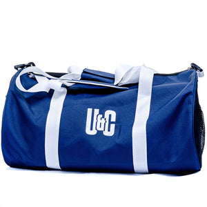 Holdall Bag - Navy/White