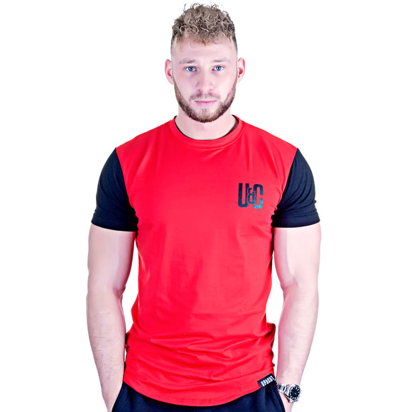 Lifestyle Tee - Red/Black