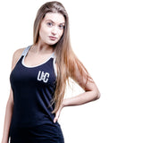 Women's Two-Tone Vest - Grey/Black