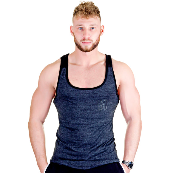 Two-Tone Longline Stringer - Graphite/Black
