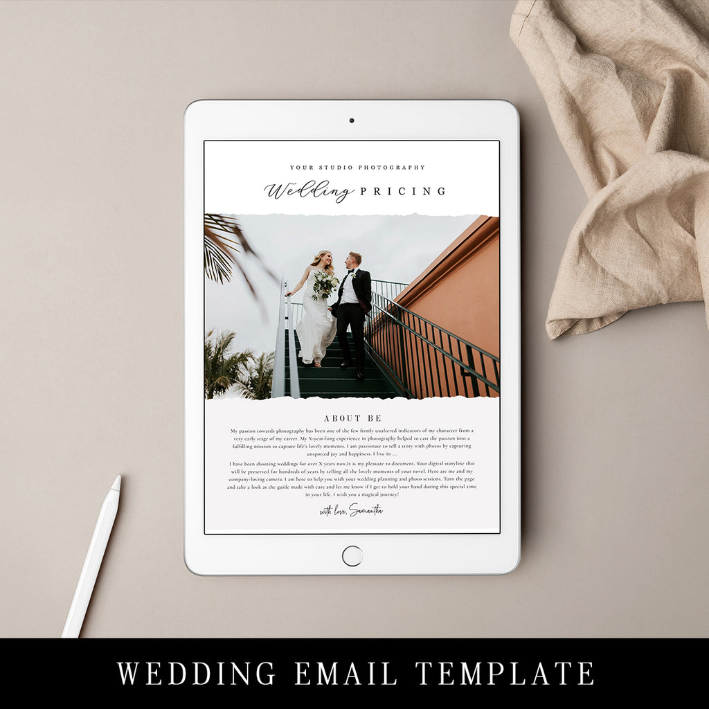 BY THEM WEDDING/EMAIL MARKETING