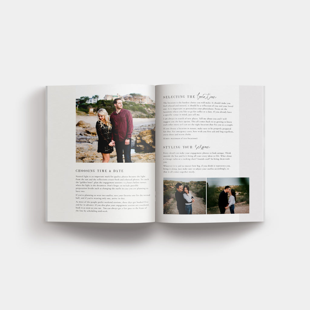 Madrid - Engagement Magazine Template - Salsal Design