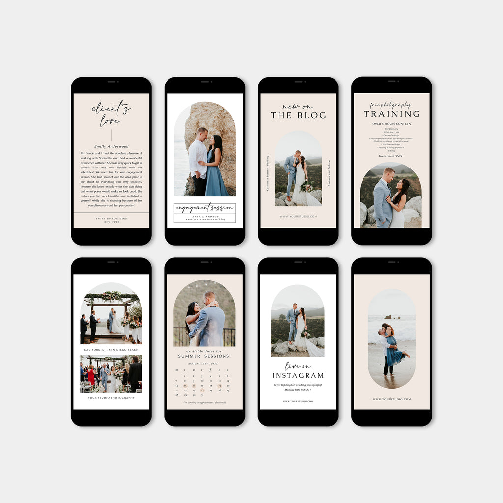Simple Wedding - Wedding Instagram Story-Template-Salsal Design