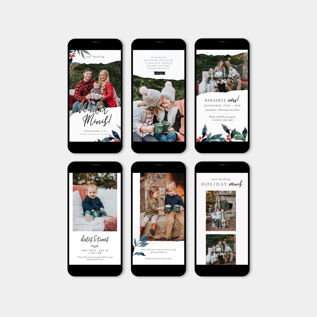 Holiday Mini - Instagram Story-Template-Salsal Design