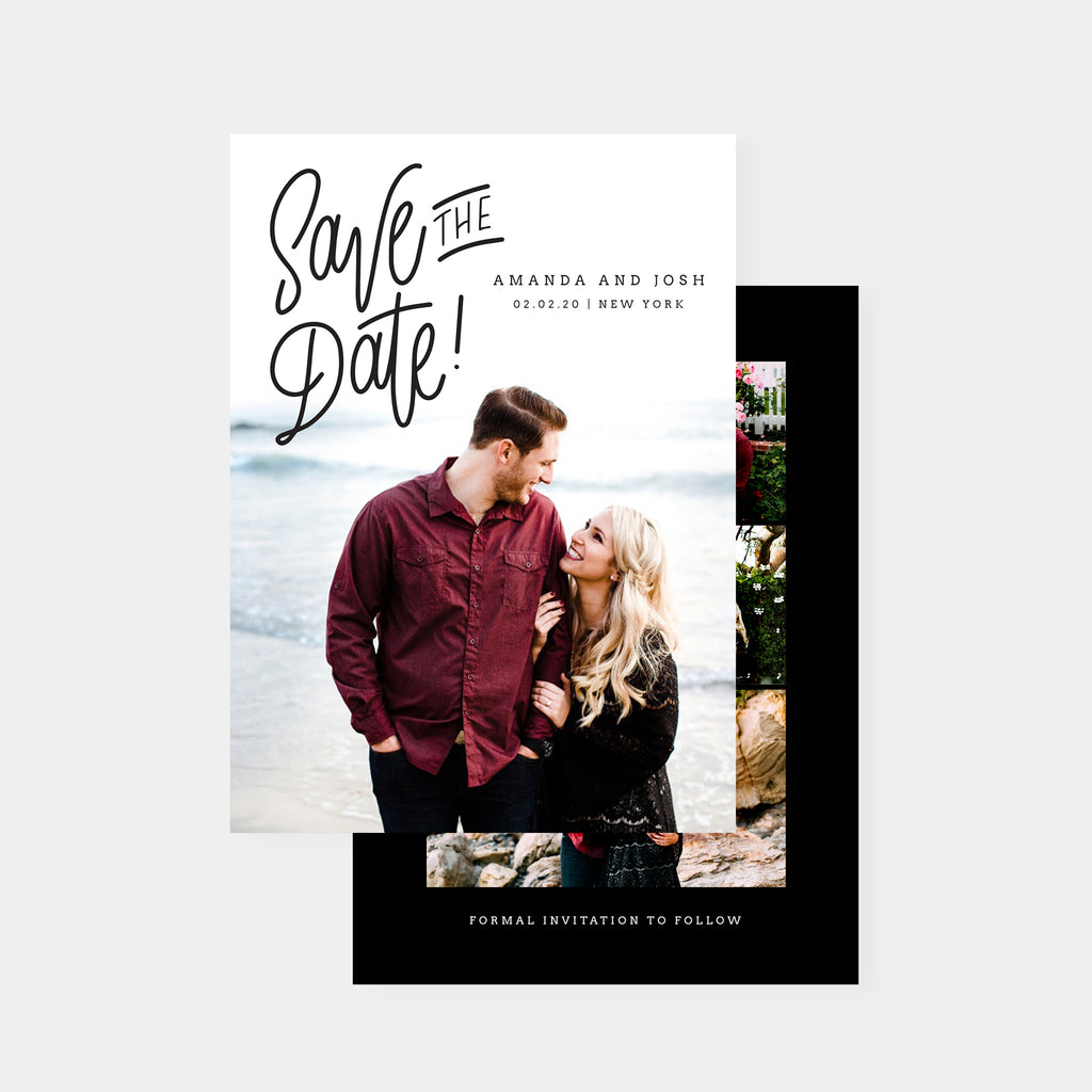 Modern Date - Save The Date-Template-Salsal Design