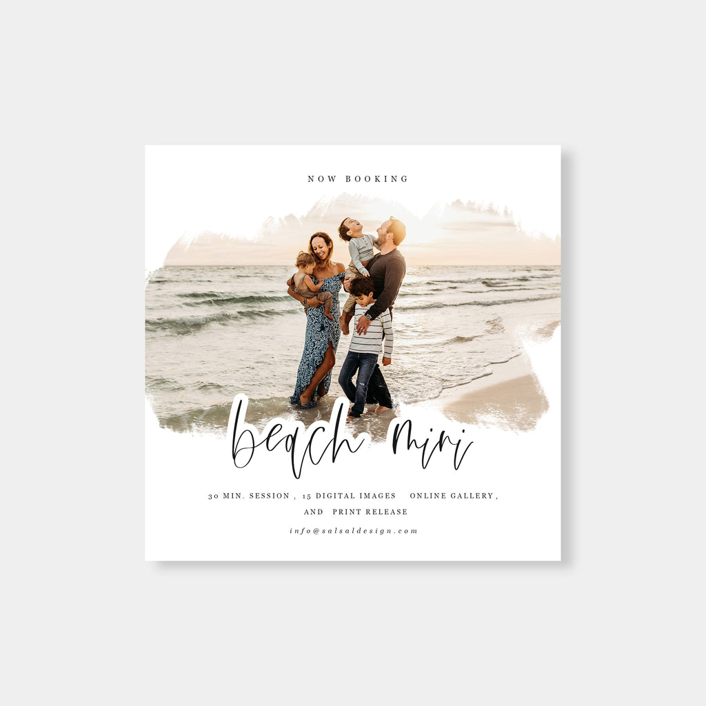 Heaven - Beach Mini Session Template-Template-Salsal Design
